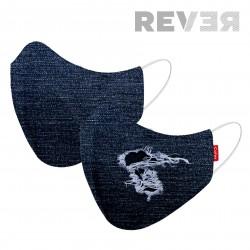 MASK 2C REVER DENIM BLUE