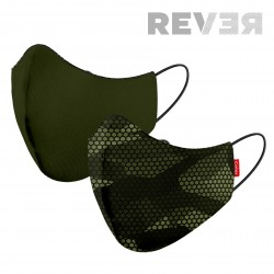 MASK 2C REVER CARBONO GREEN