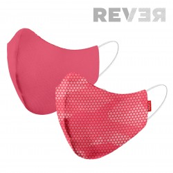 MASK 2C REVER CARBONO CORAL