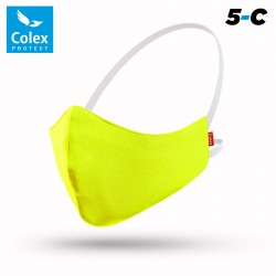 MASK 5C COLOR YELLOW FLUOR