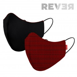 MASK 2C REVER EXECUTIVE RED