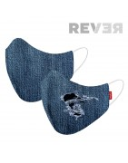 Mascarilla reversible REVER Denim
